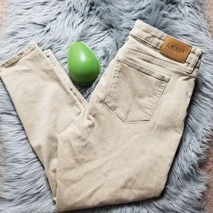 Ralph Lauren,Skinny Ankle women Jean's,  size 10P.